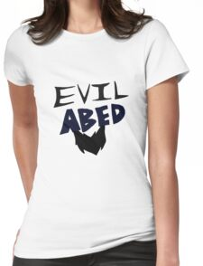 Evil Abed Womens Fitted T-Shirt