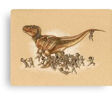 Everybody Loves T.rex Canvas Print