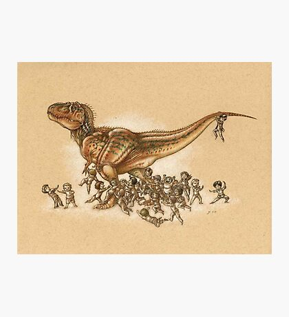 Everybody Loves T.rex Photographic Print
