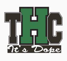 THC Marijuana by MarijuanaTshirt