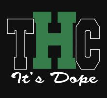 THC Cannabis by MarijuanaTshirt