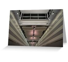 Miami International Airport in Florida Greeting Card