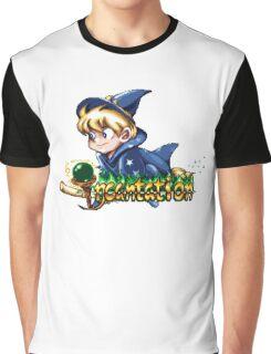 Incantation (SNES) Title Screen Graphic T-Shirt