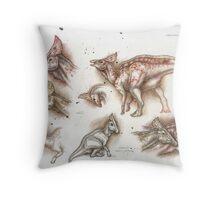 Olorotitan Studies Throw Pillow