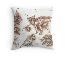 Olorotitan Studies Throw Pillow