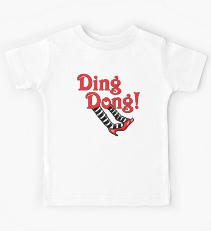 Ding Dong! The Wicked Witch Is Dead.  Wizard of Oz Kids Tee