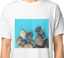 Stones on Blue Classic T-Shirt