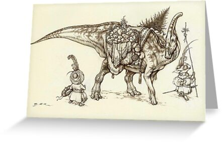 Holiday Hadrosaur 2011 by Himmapaan