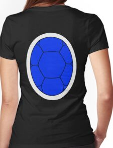 Blue Shell Womens Fitted T-Shirt
