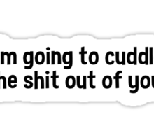 Cuddle Sticker