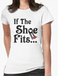 It's All About The Shoes -- Wizard of Oz Womens Fitted T-Shirt