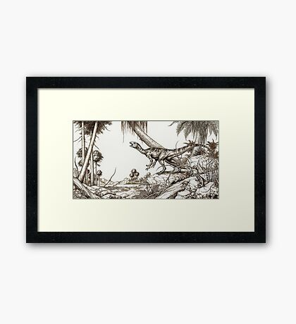 'Thesis' Framed Print