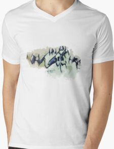 The Stampede Mens V-Neck T-Shirt