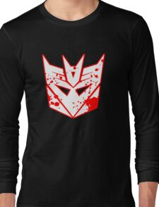 Bloody Decepticons Long Sleeve T-Shirt