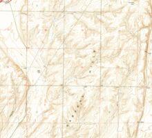 USGS Topo Map Washington State WA Karakul Hills 241736 1964 24000 Sticker