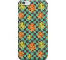 Fancy Octopus Checkered Pattern iPhone Case/Skin