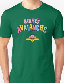 Kirby's Avalanche (SNES) Title Screen T-Shirt