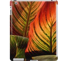 Vivid Canna Leaves, in HDR iPad Case/Skin