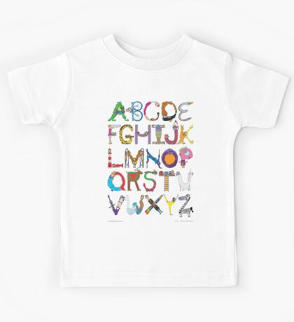 Children's Alphabet Kids Tee