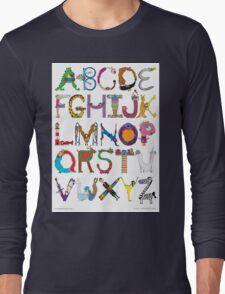 Children's Alphabet Long Sleeve T-Shirt