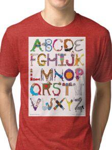 Children's Alphabet Tri-blend T-Shirt