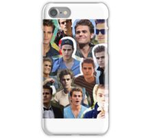 Paul Wesley Collage iPhone Case/Skin