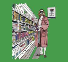 Jeffrey Lebowski and Milk. AKA, the Dude. One Piece - Short Sleeve
