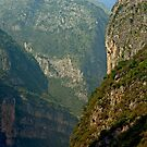 Three Gorges River Bend by phil decocco