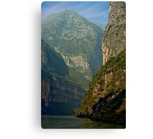 Three Gorges River Bend Canvas Print
