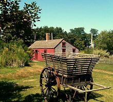 An Antique Apple Cart, Prescott Farm, Middletown, RI by Jane Neill-Hancock