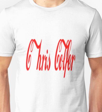 chris colfer coca cola design T-Shirt