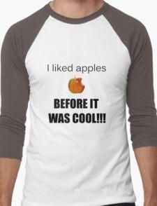 I always liked apples... Men's Baseball ¾ T-Shirt
