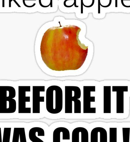 I always liked apples... Sticker