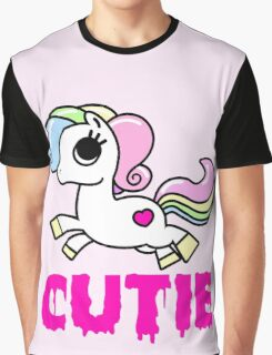 Cutie Horse (Regular) Graphic T-Shirt