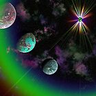 COLORFUL PLANETS by PALLABI ROY