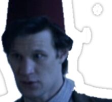 Doctor Who Fez 1 Sticker