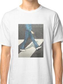 The Beatles George Harrison Abbey Road Zebra Crossing Classic T-Shirt