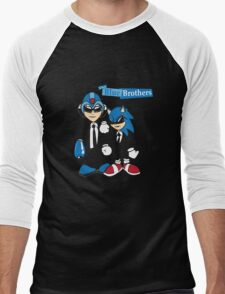 The Blue Brothers Men's Baseball ¾ T-Shirt