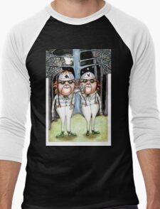 The Tweedles collaboration Men's Baseball ¾ T-Shirt