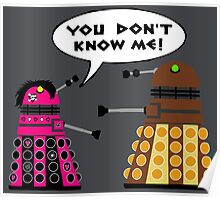 Teenage Dalek Poster