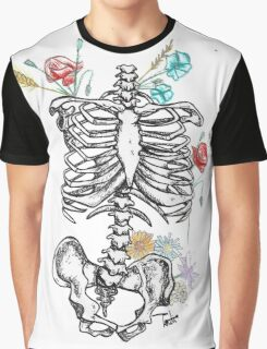 Ornate skeleton Graphic T-Shirt