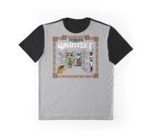 Guantlet (NES) Title Scren Graphic T-Shirt