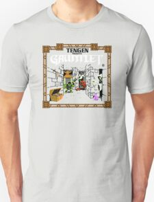 Guantlet (NES) Title Scren Unisex T-Shirt