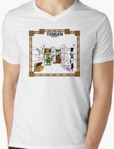 Guantlet (NES) Title Scren Mens V-Neck T-Shirt