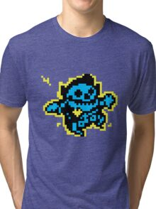 SHOCK! 8 BIT Tri-blend T-Shirt