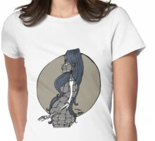 Cyborg couleur Womens Fitted T-Shirt