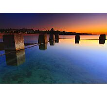 Coogee Pool Sunrise Photographic Print