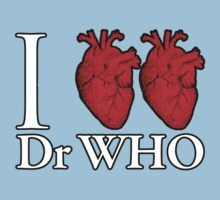 I Heart Heart Dr Who Kids Clothes