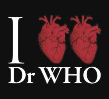 I Heart Heart Dr Who by ezcreative