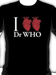 I Heart Heart Dr Who T-Shirt